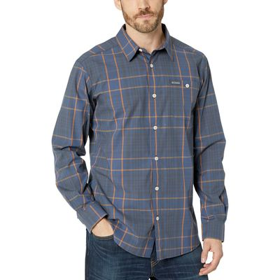 Columbia - Columbia Canyon Gold Large Plaid Boulder Ridge™ Long Sleeve Shirt