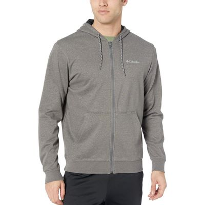 Columbia - Columbia Charcoal Heather Csc M Bugasweat™ Full Zip Hoodie