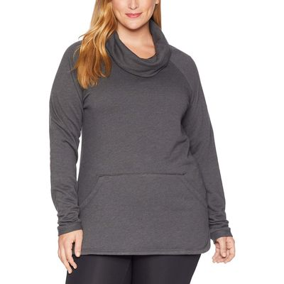 Columbia - Columbia Charcoal Heather Plus Size Weekend Wanderer™ Pullover