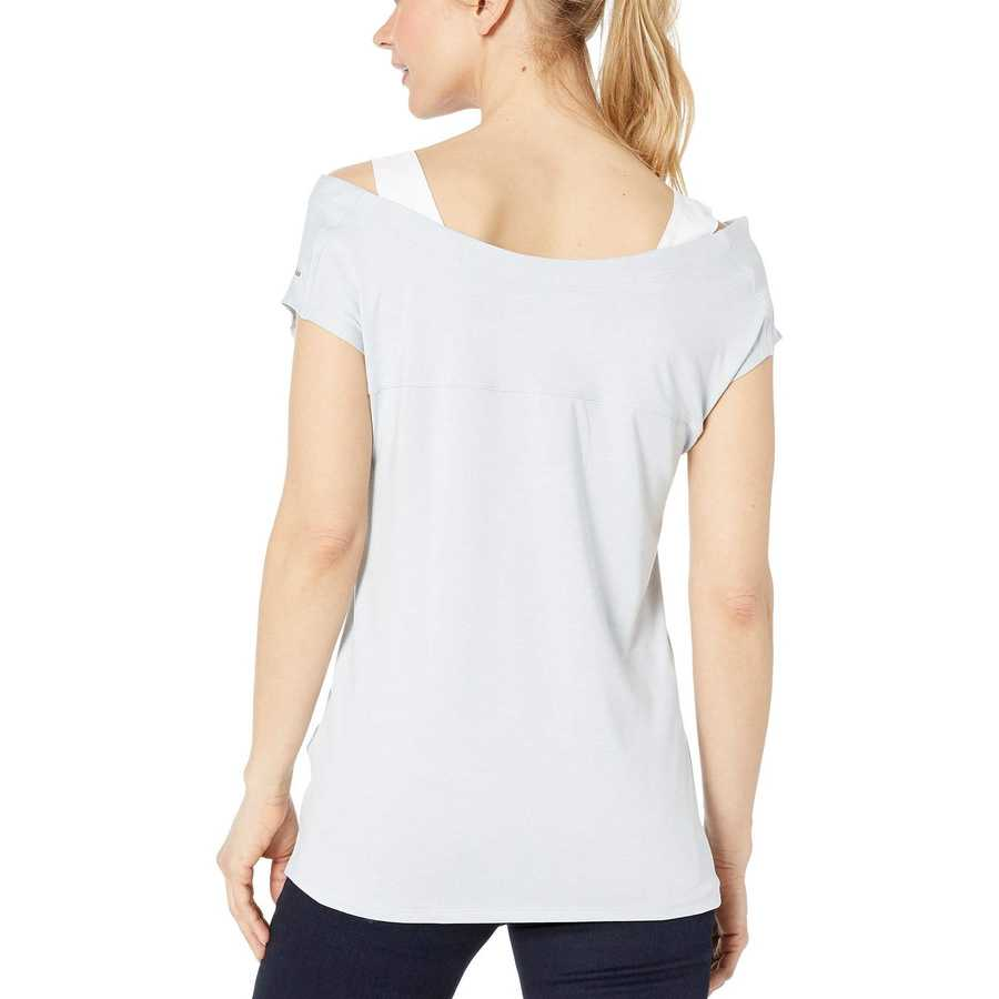 Columbia Cirrus Grey Heather Place To Place™ Short Sleeve Shirt