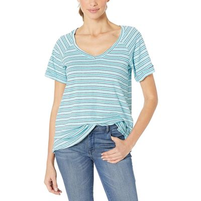 Columbia - Columbia Clear Blue Stripe Summer Time™ T-Shirt Iı