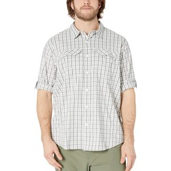 Columbia Cypress Gingham Big And Tall Silver Ridge Lite Plaid Long Sleeve Shirt - Thumbnail