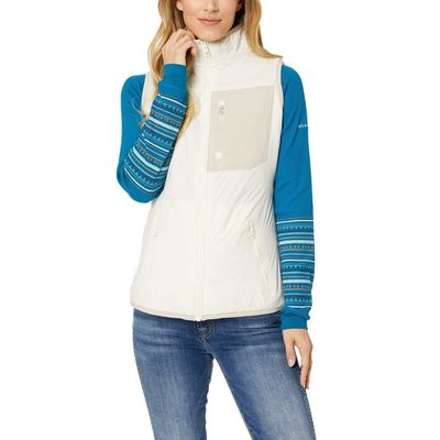 Columbia - Columbia Light Bisque/Fossil/Light Bisque Sherpa Bryce Canyon™ Reversible Vest