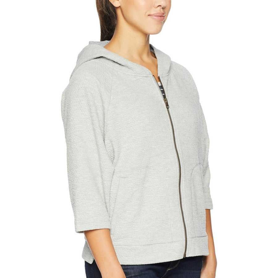 Columbia Light Grey Heather Winter Dream™ Full Zip Shrug