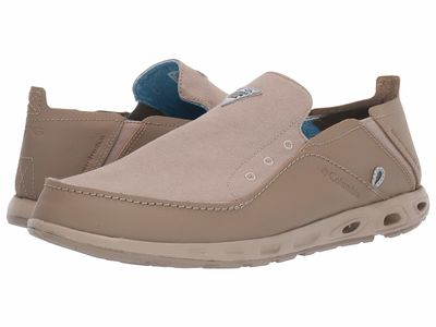 Columbia - Columbia Men Khaki Mhw/Blue Chill Bahama™ Vent Pfg Boat Shoes