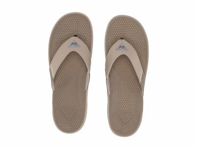 Columbia - Columbia Men Wet Sand/Ancient Fossil Rostra™ Pfg Flip Flops
