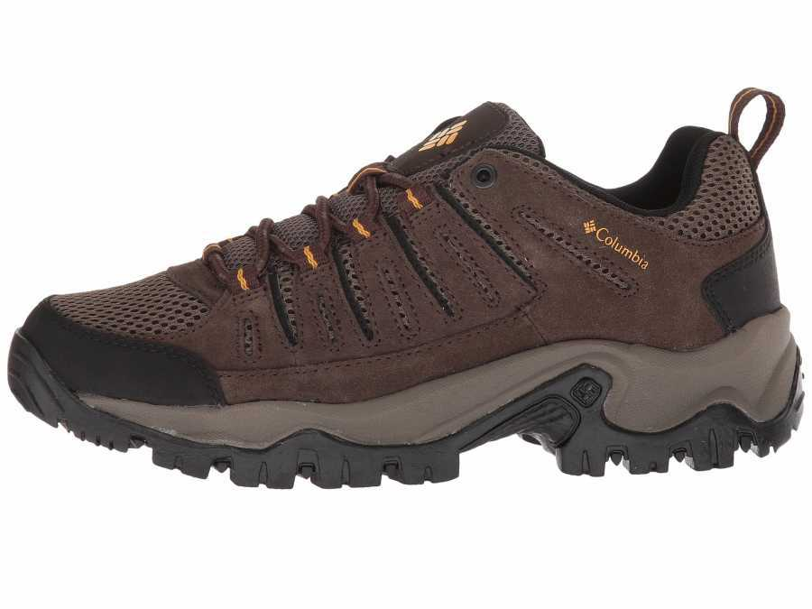 Columbia Men's Cordovan Mud Lakeview II Low Running Shoes