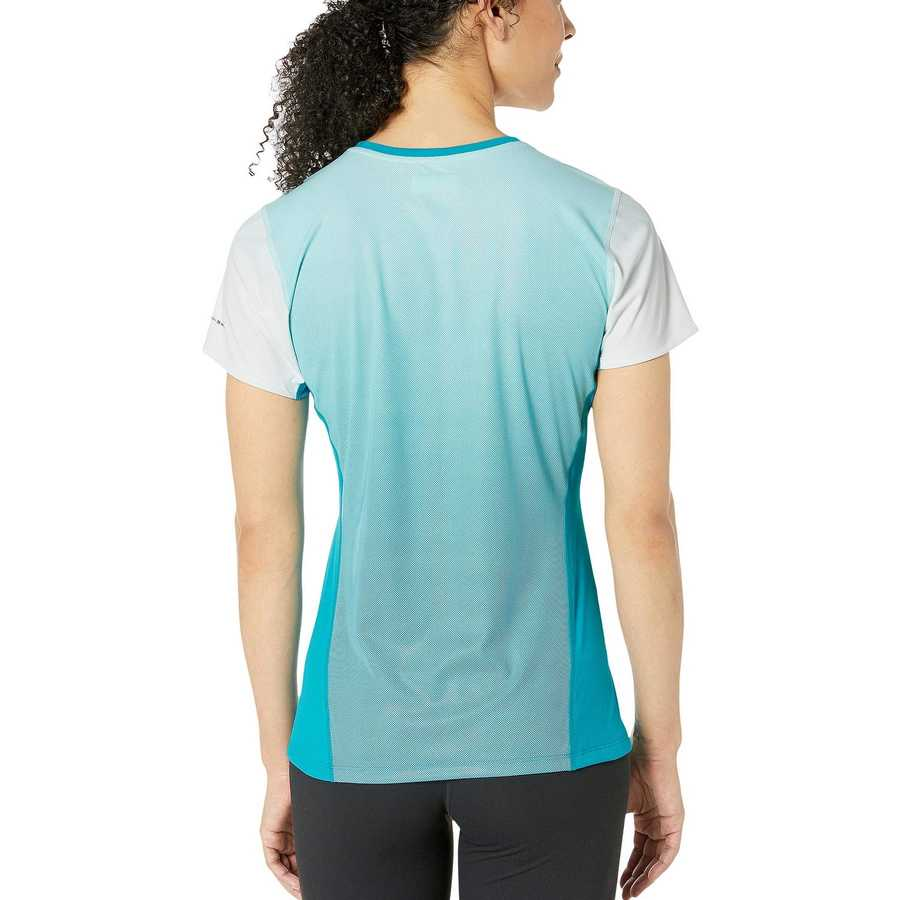 Columbia Modern Turquoise Solar Chill™ 2.0 Short Sleeve Shirt