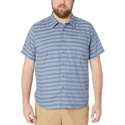 Columbia - Columbia Mountain Woven Big & Tall Shoals Point™ Short Sleeve Shirt