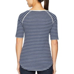 Columbia Nocturnal Stripe Winter Adventure™ Short Sleeve Stripe Tee - Thumbnail