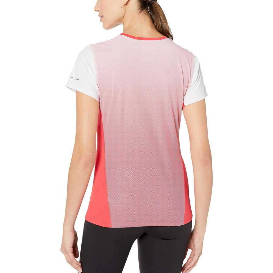 Columbia Red Coral Solar Chill™ 2.0 Short Sleeve Shirt