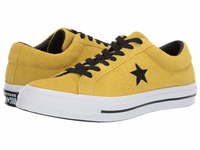 Converse - Converse Men Bold Citron One Star - Dark Star Lifestyle Sneakers