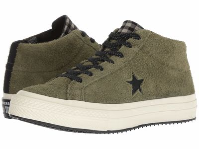 Converse - Converse Men Field Surplus/Black/Egret One Star - Counter Climate Mid Lifestyle Sneakers