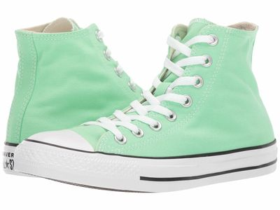 Converse - Converse Men Light Aphid Green Chuck Taylor All Star Seasonal Color - Hi Lifestyle Sneakers