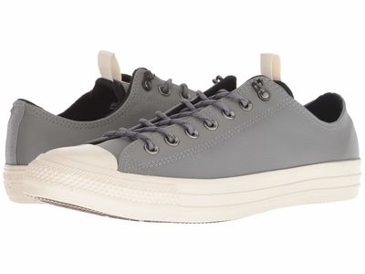 Converse - Converse Men Mason/Black/Driftwood Chuck Taylor All Star Leather - Ox Lifestyle Sneakers