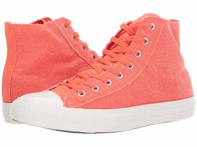 Converse - Converse Men Turf Orange/Egret/Egret Chuck Taylor All Star Washed Out - Hi Lifestyle Sneakers