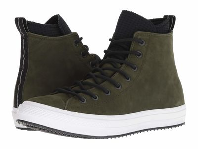 Converse - Converse Men Utility Green/Black/White Chuck Taylor All Star Utility Draft Boot - Hi Lifestyle Sneakers