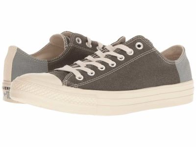 Converse - Converse Men's Jute Black Cool Grey Chuck Taylor All Star Ox - Jute Americana Lifestyle Sneakers
