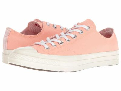 Converse - Converse Men's Pale Coral/White/Egret Chuck Taylor All Star '70 Ox Lifestyle Sneakers