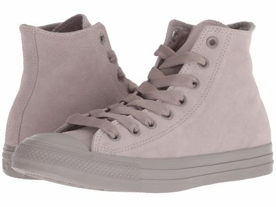 Converse - Converse Women Mercury Grey/Mercury Grey/Mercury Grey Chuck Taylor All Star Tonal Suede - Hi Lifestyle Sneakers