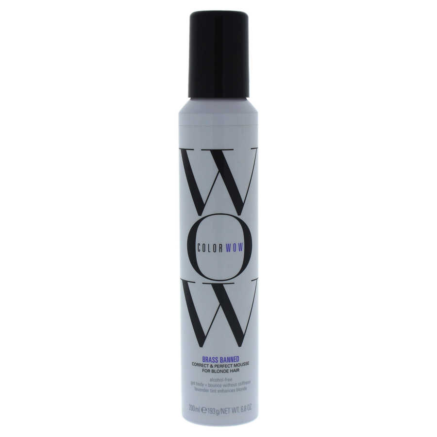 Correct and Perfect Mousse For Blonde Hair 6,8oz