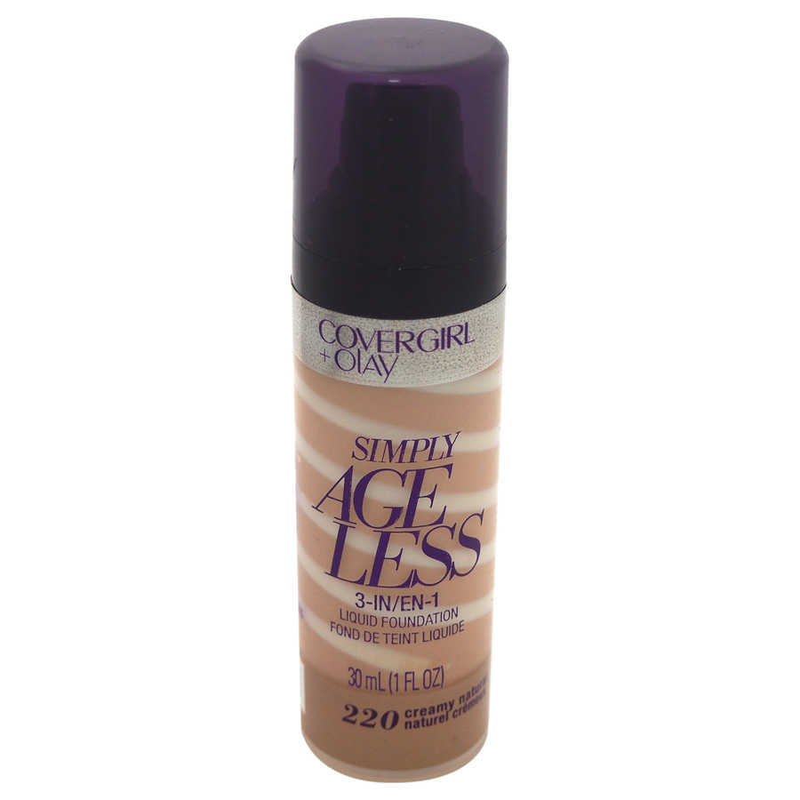CoverGirl + Olay Simply Ageless 3-in-1 Liquid Foundation - # 220 Creamy Natural 1oz