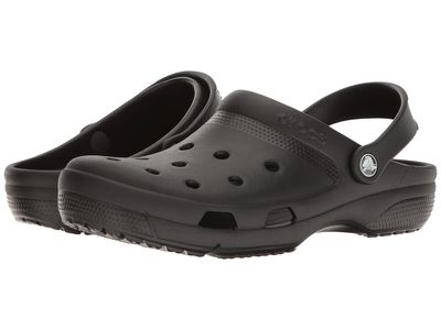Crocs - Crocs Men Black Coast Clog Clogs Mules