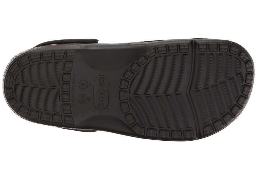 Crocs Men Black Coast Clog Clogs Mules