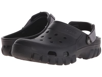 Crocs - Crocs Men Black Off Road Sport Clog Clogs Mules