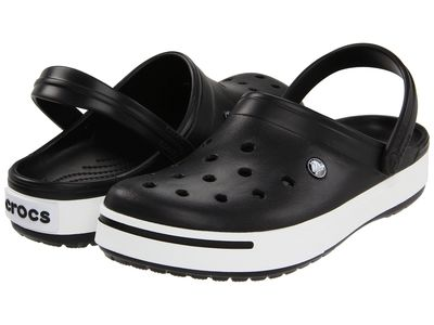 Crocs - Crocs Men Black/Black Crocband İi Clog Clogs Mules