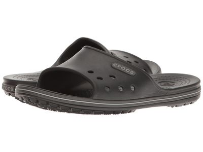 Crocs - Crocs Men Black/Graphite Crocband İi Slide Active Sandals