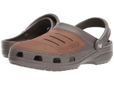 Crocs - Crocs Men Chocolate Bogota Clogs Mules