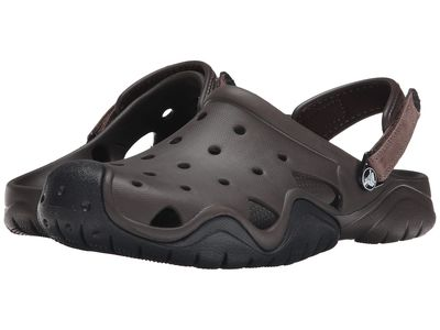 Crocs - Crocs Men Espresso/Black Swiftwater Clog Clogs Mules