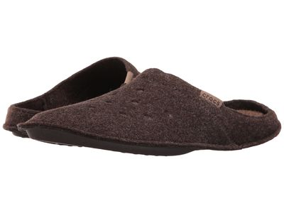 Crocs - Crocs Men Espresso/Walnut Classic Slipper Slippers