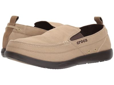 Crocs - Crocs Men Khaki/Espresso Walu Loafers