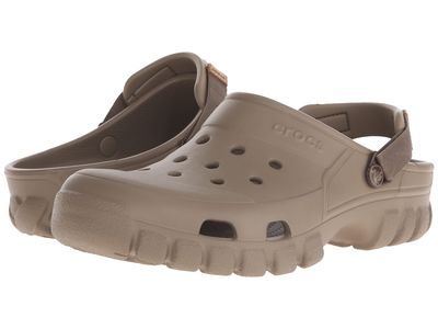 Crocs - Crocs Men Khaki/Walnut Off Road Sport Clog Clogs Mules