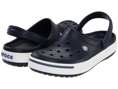 Crocs - Crocs Men Navy/Bijou Blue Crocband İi Clog Clogs Mules