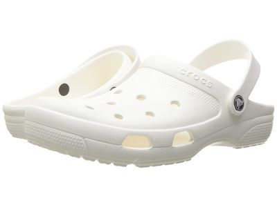 Crocs - Crocs Men White Coast Clog Clogs Mules