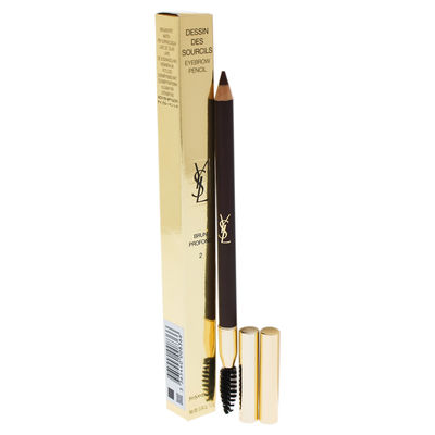 Yves Saint Laurent - Dessin Des Sourcils Eyebrow Pencil - 2 Dark brown 0,04oz