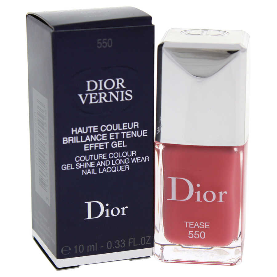 Dior Vernis Couture Colour Gel Shine and Long Wear Nail Lacquer - # 550 Tease 0,33oz