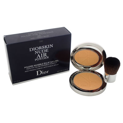 Christian Dior - Diorskin Nude Air Powder With Kabuki Brush - # 040 Honey Beige 0,35oz