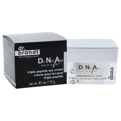 Dr. Brandt - Do Not Age with Dr. Brandt Triple Peptide Eye Cream 0,5oz
