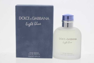 Dolce&Gabbana - Dolce&Gabbana Light Blue EDT 125 ML (4.2oz) Men Perfume (Original)