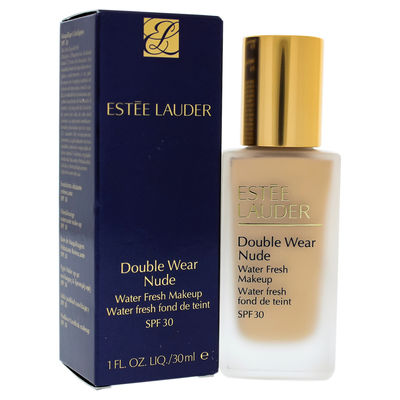 Estee Lauder - Double Wear Nude Water Fresh Makeup SPF 30 - 1W2 Sand 1oz