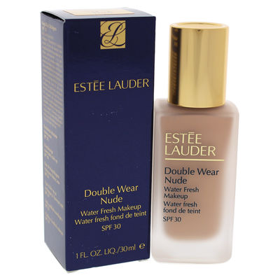 Estee Lauder - Double Wear Nude Water Fresh Makeup SPF 30 - 3C2 Pebble 1oz