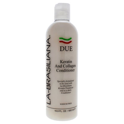 LA Brasiliana - Due Keratin and Collagen Conditioner 16,9oz
