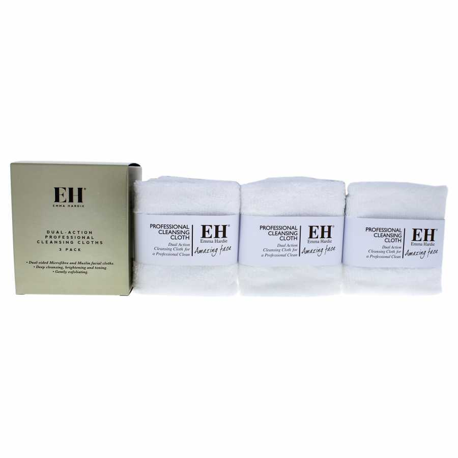 Emma Hardie Dual Action Cleansing Cloth 3 Pc