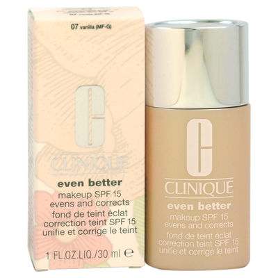 Clinique - Even Better Makeup SPF 15 - # 07 Vanilla (MF-G) - Dry To Combination Oily Skin 1oz