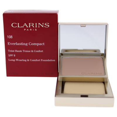 Clarins - Everlasting Compact Foundation SPF 9 - 108 Sand 0,3oz