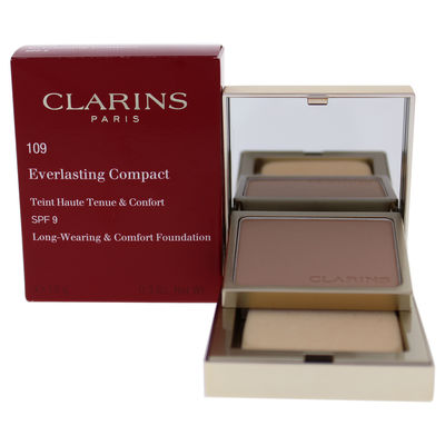 Clarins - Everlasting Compact Foundation SPF 9 - 109 Wheat 0,3oz